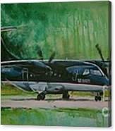 Dornier 328 Usairways Psa Canvas Print