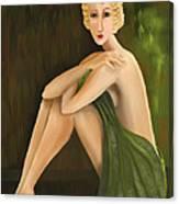 D'oro Verde Canvas Print