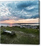 Dorset Chesil Beach Canvas Print
