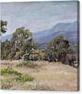 Dos Pueblos Canyon Canvas Print