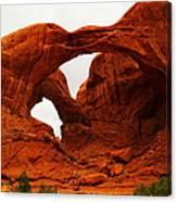 Double Arches Canvas Print