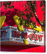 Double Double With Cheese Animal Style Yum Canvas Print