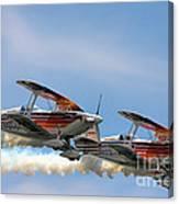 Double Iron Eagles Canvas Print