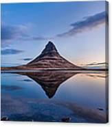 Double Kirkjufell Iceland Canvas Print