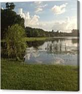 Double Look At The Farm  Canvas Print