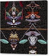 Double Totem Canvas Print