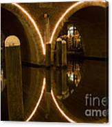 Double Tunnel Canvas Print