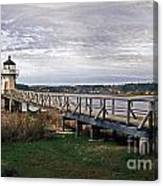 Doubling Point Light Canvas Print