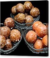 Dough Nut Holes Canvas Print