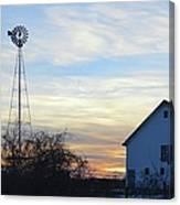 Dougherty Barn Panorama Canvas Print