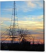 Dougherty Windmill Canvas Print