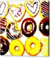 Doughhhnuts Canvas Print