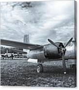 Douglas A-26 Invader 3770b Canvas Print