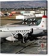 Douglas C-54e Firefighting Airtanker N460wa Canvas Print