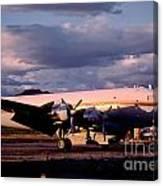 Douglas Dc4 Firefighting Airtanker Canvas Print