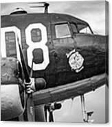 Douglass C-47 Skytrain - Nose Section - Dakota Canvas Print