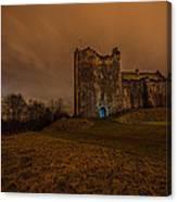 Doune Castle At Night Canvas Print