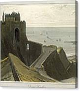 Dover Castle, From A Voyage Around Canvas Print