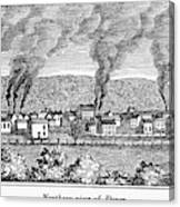 Dover, New Jersey, 1844 Canvas Print