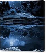 Dovestones Night Sky Canvas Print