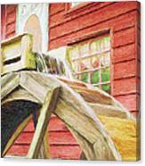 Down By The Old Mill Canvas Print