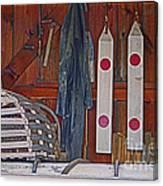 Down East Equipment  Canvas Print