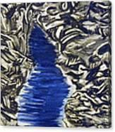 Down Flow Canvas Print