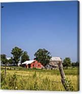 Down Home Amish Farm Canvas Print