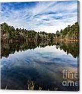 Down The Lake Canvas Print