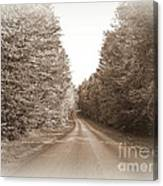 Down The Road Canvas Print
