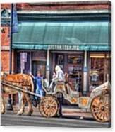 Down Town Nashville Canvas Print