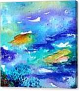 Down Under Canvas Print