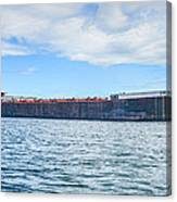 Downbound At Mission Point 2 Canvas Print