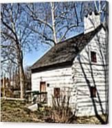 Downingtown Log House 1701 Canvas Print