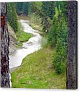 Downriver Canvas Print