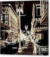 Downtown 2 By Angelia  Canvas Print