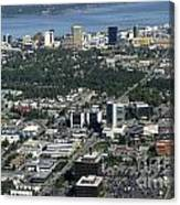 Downtown Anchorage Alaska Canvas Print