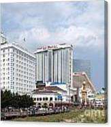 Downtown Atlantic City New Jersey Canvas Print
