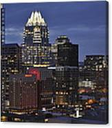 Downtown Austin 3 Canvas Print