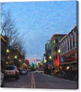 Downtown Boise Canvas Print