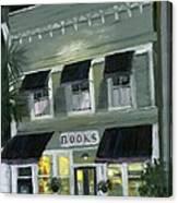 Downtown Books 11 Canvas Print