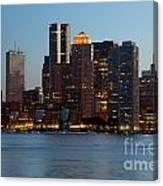 Downtown Boston Skyline Canvas Print