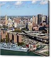 Downtown Buffalo Skyline Canvas Print