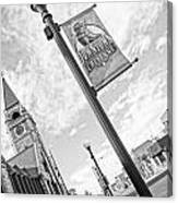 Downtown Cheyenne Canvas Print