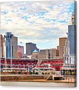 Downtown Cincinnati 9885 Canvas Print