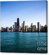 Downtown City Buildings In The Chicago Skyline Canvas Print