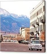 Downtown Colorado Springs  Colorado Canvas Print