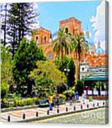 Downtown Cuenca Ecuador Canvas Print