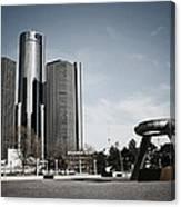 Downtown Detroit Canvas Print