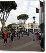 Downtown Disney Anaheim - 12122 Canvas Print